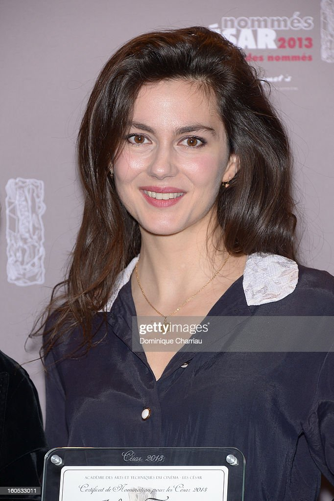 Julia Faure attends the Cesar 2013 Nominee Lunch at Le Fouquet's on February 2, 2013 in Paris, France.
