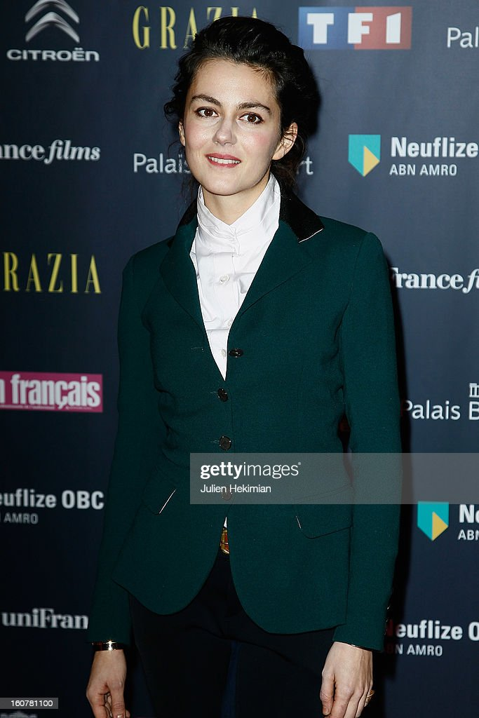 Julia Faure attends the 'Trophees Du Film Francais' 20th Ceremony at Palais Brongniart on February 5, 2013 in Paris, France.