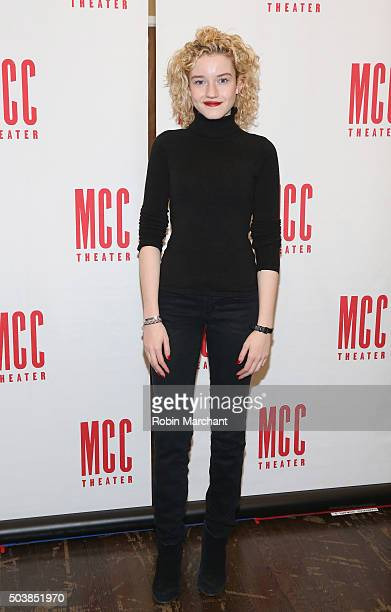 Julia Garner attends 'Smokefall' Press Preview at MTC Rehearsal Studios on January 7 2016 in New York City