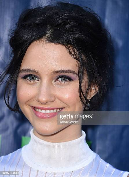 JUlia Goldani Telles arrives at the CBS CW And Showtime 2015 Summer TCA Party at Pacific Design Center on August 10 2015 in West Hollywood California