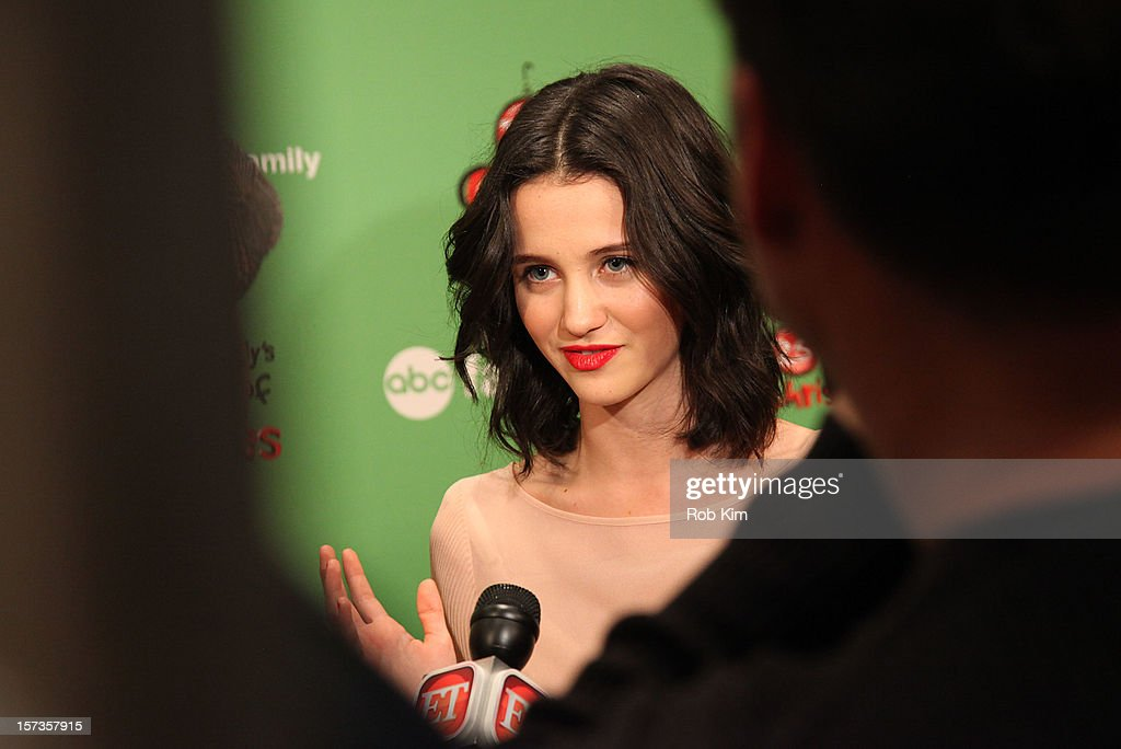 Julia Goldani Telles of Bunheads attends ABC Family's '25 Days Of Christmas' Winter Wonderland event at Rockefeller Center on December 2, 2012 in New York City.