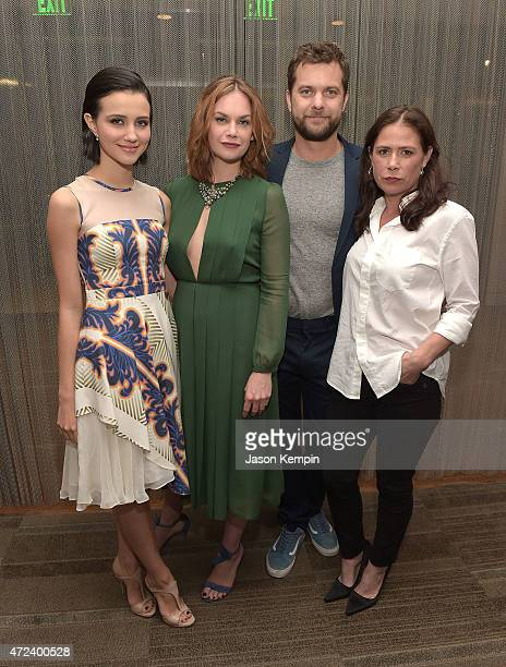 Julia Goldani Telles Ruth Wilson Joshua Jackson and Maura Tierney attend the after party for Showtime's 'The Affair' at the Samuel Goldwyn Theater on...