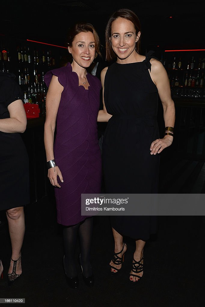 Julia Goldin and <a gi-track='captionPersonalityLinkClicked' href=/galleries/search?phrase=Anne+Fulenwider&family=editorial&specificpeople=9477353 ng-click='$event.stopPropagation()'>Anne Fulenwider</a> attend Marie Claire honors Olivia Wilde and her April cover on April 8, 2013 in New York City.