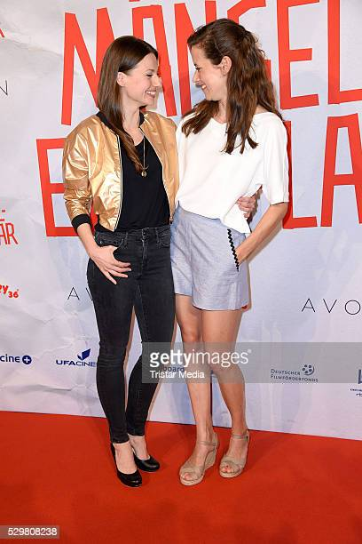 Julia Hartmann and Anja Knauer attend the 'Maengelexemplar' German Premiere on May 09 2016 in Berlin Germany