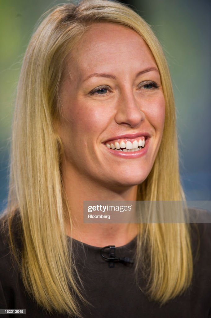 Julia Hartz, president and co-founder of Eventbrite Inc., smiles during a Bloomberg West television interview in San Francisco, California, U.S., on Thursday, Sept. 26, 2013. Eventbrite Inc. provides online event planning services. Photographer: David Paul Morris/Bloomberg via Getty Images