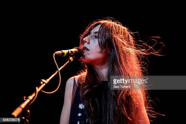 Julia Holter performs in concert during day 4 of Primavera Sound on June 4 2016 in Barcelona Spain