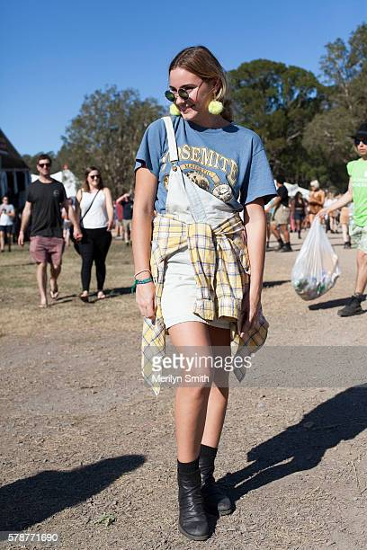 Julia Iovenitti during Splendour in the Grass 2016 on July 22 2016 in Byron Bay Australia