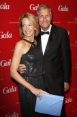 Julia Jaekel and her husband Ulrich Wickert attend the Gala Spa Awards 2013 at the Brenners Park Hotel on March 16 2013 in Berlin Germany