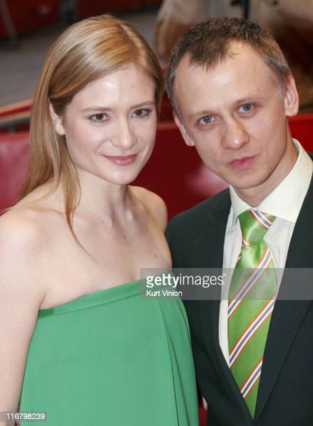 Julia Jentsch and Ivan Barnev during The 57th Annual Berlinale International Film Festival I Served the King of England Red Carpet Arrivals in Berlin...