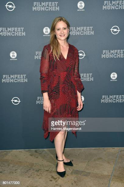 Julia Jentsch attends 'Das Verschwinden' Premiere during Munich Film Festival 2017 at HFF Muenchen on June 26 2017 in Munich Germany