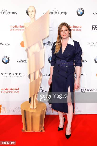 Julia Jentsch attends the nominee dinner for the German Film Award 2017 Lola at BMW Niederlassung Berlin on April 8 2017 in Berlin Germany