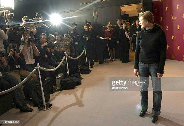 Julia Jentsch during 55th Berlin International Film Festival 'Sophie Scholl' Press Conference in Berlin Germany