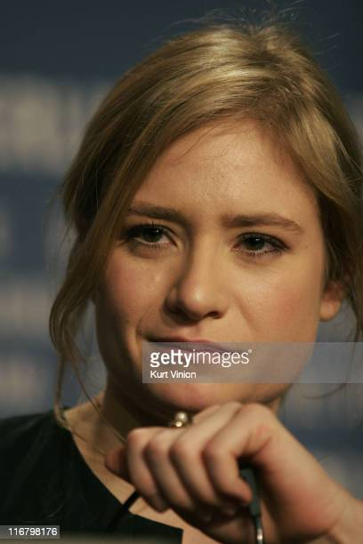 Julia Jentsch during The 57th Berlin International Film Festival 'I Served The King of England' Press Conference in Berlin Germany