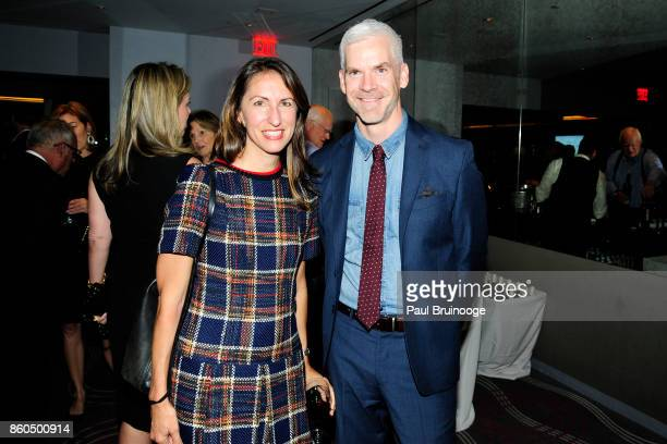 Julia Johnston and Jesse Carrier attend the Decoration and Design Building celebrates the 2017 winners of the DDB's 10th Anniversary of Stars of...