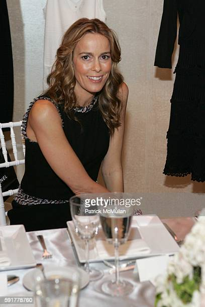 Julia Koch attends The Camellia Luncheon Sponsored by Chanel to benefit The New York Botanical Garden at Chanel on October 25 2005 in New York City