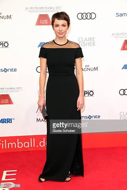 Julia Koschitz during the 44th German Film Ball 2017 arrival at Hotel Bayerischer Hof on January 21 2017 in Munich Germany