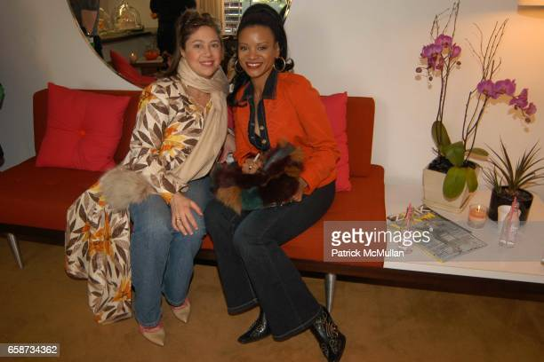 Julia Labaton and Traci Melchor attend the Boudoir Oscar Suite Sponsored by Mario Badescu Vidal Sassoon and Creative Mail Design at the Chateau...