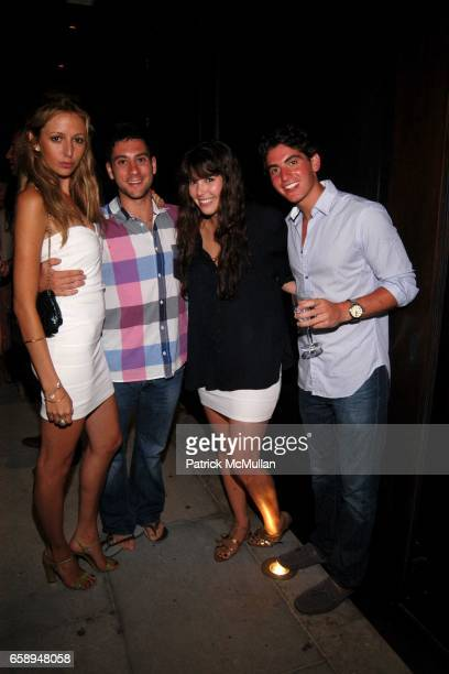 Julia LevyBoeken Josh Hoffman Rose Goldberg and Ross Banon attend Party for Sheba Medical Center at Tel Hashomer at Private Residance on August 1...