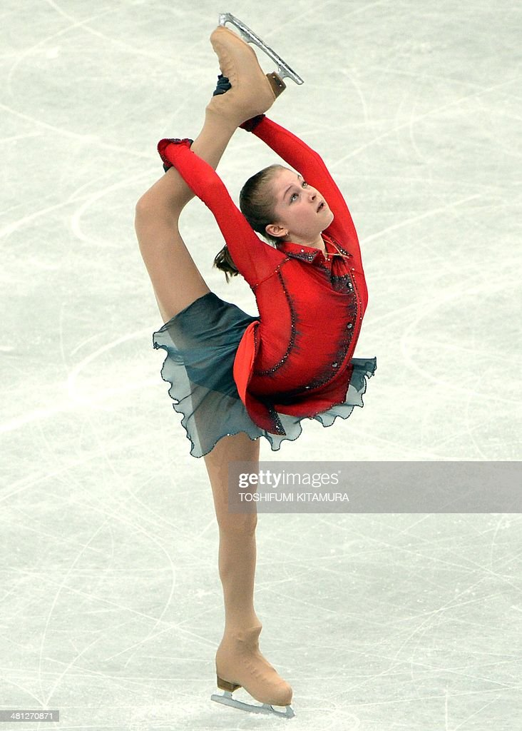 Julia Lipnitskaia of Russia performs during her women's singles free skating event at the world figure skating championships in Saitama on March 29, 2014.