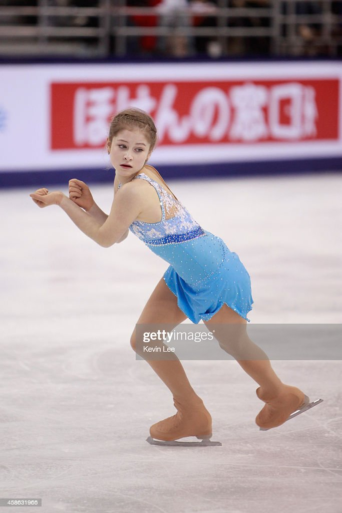 <a gi-track='captionPersonalityLinkClicked' href=/galleries/search?phrase=Julia+Lipnitskaia&family=editorial&specificpeople=8736202 ng-click='$event.stopPropagation()'>Julia Lipnitskaia</a> of Russia skates in Ladies Free Skating during the Lexus Cup of China 2014 on November 8, 2014 in Shanghai, China.