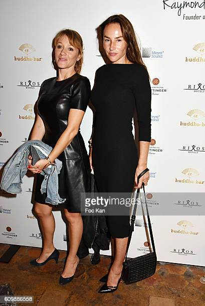 Julia Livage and Vanessa Demouy attend the Buddha Bar 20th Anniversary Party at Buddha Bar Club on September 22 2016 in Paris France