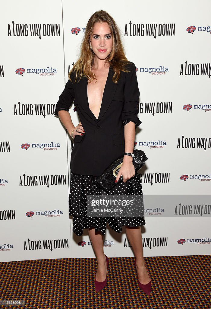 Julia Loomis attends 'A Long Way Down' New York premiere at City Cinemas 123 on June 30, 2014 in New York City.