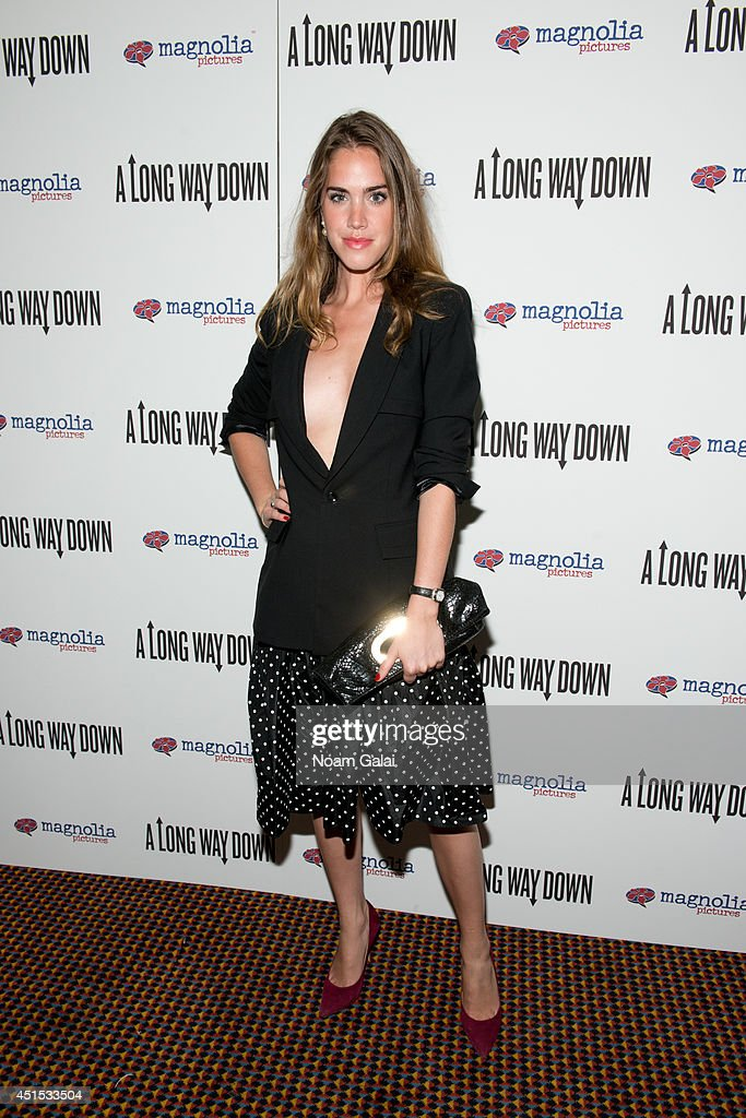 Julia Loomis attends the 'A Long Way Down' New York Premiere at City Cinemas 123 on June 30, 2014 in New York City.