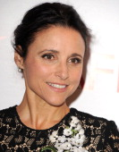 Julia LouisDreyfus arrives at the American Film Institute Awards Luncheon at Four Seasons Hotel Los Angeles at Beverly Hills on January 10 2014 in...