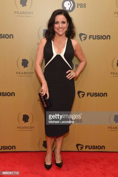 Julia LouisDreyfus attends The 76th Annual Peabody Awards Ceremony at Cipriani Wall Street on May 20 2017 in New York City