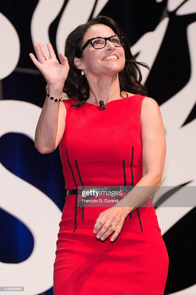 Julia Louis-Dreyfus attends the Cannes Lions International Festival of Creativity on June 24, 2015 in Cannes, France.