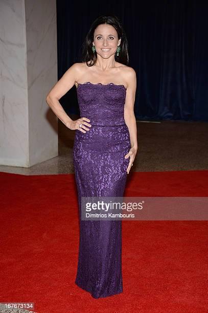 Julia LouisDreyfus attends the White House Correspondents' Association Dinner at the Washington Hilton on April 27 2013 in Washington DC