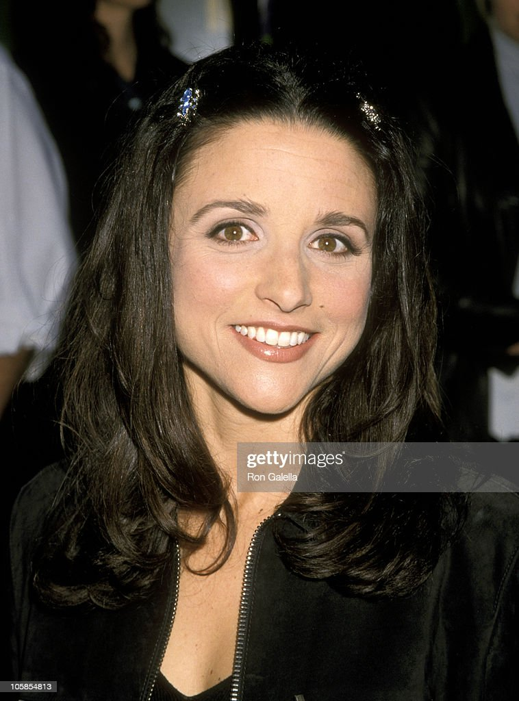 <a gi-track='captionPersonalityLinkClicked' href=/galleries/search?phrase=Julia+Louis-Dreyfus&family=editorial&specificpeople=208965 ng-click='$event.stopPropagation()'>Julia Louis-Dreyfus</a> during A Bug's Life - Los Angeles Premiere at El Captain Theatre in Hollywood, California, United States.