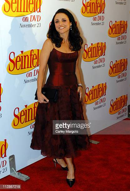Julia LouisDreyfus during 'Seinfeld' First 3 Seasons Released on DVD at Rainbow Room in New York City New York United States