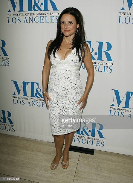 Julia LouisDreyfus during The Museum of Television Radio Presents 'New Adventures of Old Christine' Arrivals at Museum of Television Radio in Beverly...