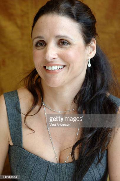 Julia LouisDreyfus during 'The New Adventure of Old Christine' Press Conference with Julia LouisDreyfus at Four Seasons Hotel in Beverly Hills...