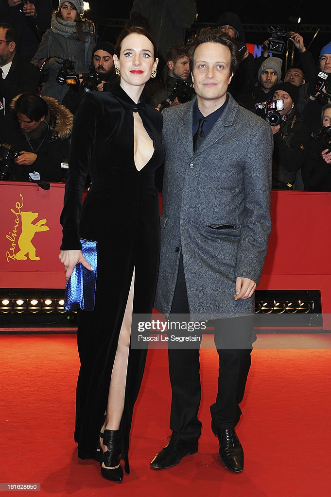 Julia Malik and August Diehl attend the 'Night Train to Lisbon' Premiere during the 63rd Berlinale International Film Festival at the Berlinale Palast on February 13, 2013 in Berlin, Germany.
