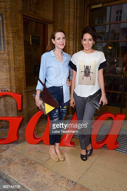 Julia Malik and Johanna Klum attend the Gala Fashion Brunch at Ellington Hotel on July 11 2014 in Berlin Germany