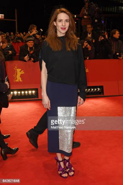 Julia Malik arrives for the closing ceremony of the 67th Berlinale International Film Festival Berlin at Berlinale Palace on February 18 2017 in...
