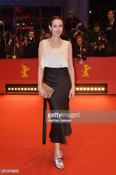 Julia Malik attends the closing ceremony of the 66th Berlinale International Film Festival on February 20 2016 in Berlin Germany