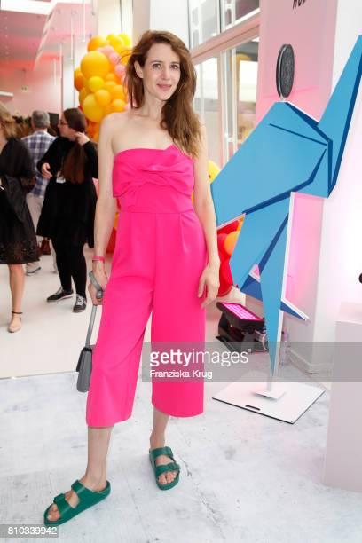 Julia Malik attends the Gala Fashion Brunch during the MercedesBenz Fashion Week Berlin Spring/Summer 2018 at Ellington Hotel on July 7 2017 in...