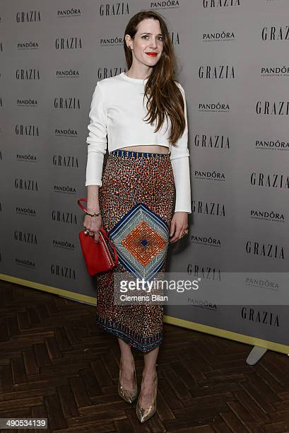 Julia Malik attends the Grazia Best Dressed Award at Soho House on May 14 2014 in Berlin Germany