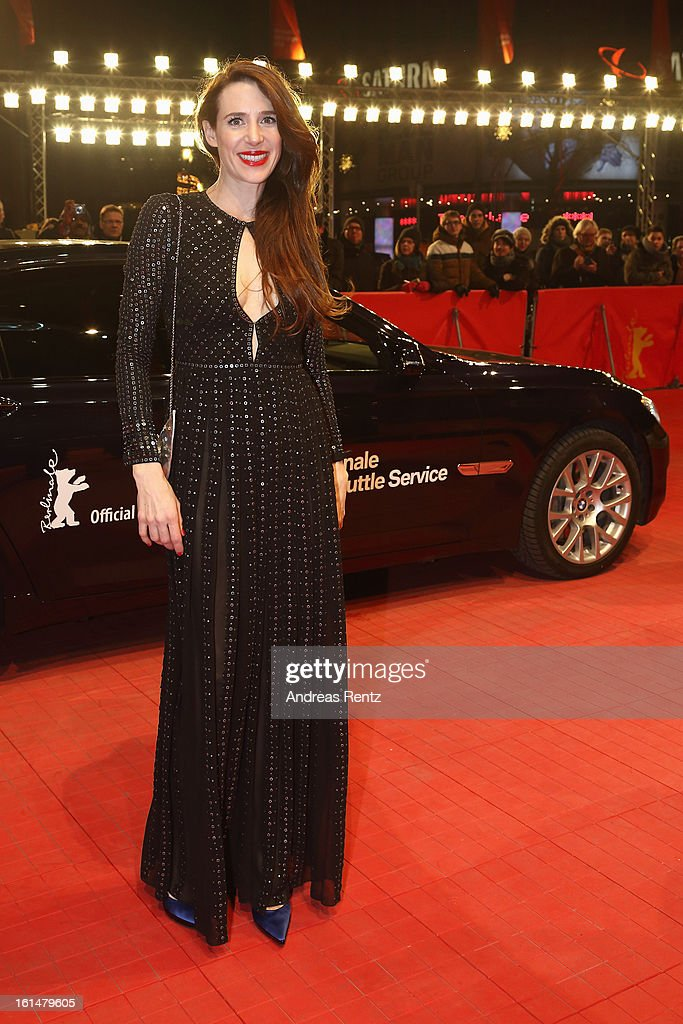 <a gi-track='captionPersonalityLinkClicked' href=/galleries/search?phrase=Julia+Malik&family=editorial&specificpeople=2853278 ng-click='$event.stopPropagation()'>Julia Malik</a> attends the 'Layla Fourie' Premiere during the 63rd Berlinale International Film Festival at the Berlinale Palast on February 11, 2013 in Berlin, Germany.