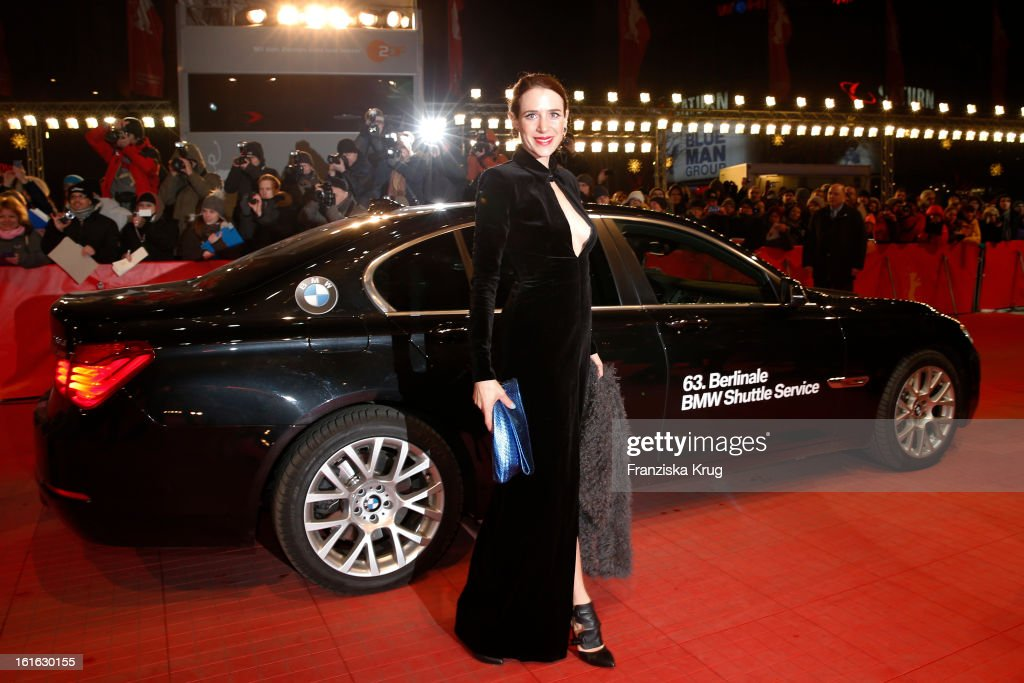 Julia Malik attends the 'Night Train To Lisbon' Premiere - BMW at the 63rd Berlinale International Film Festival at Berlinale Palast on February 13, 2013 in Berlin, Germany.