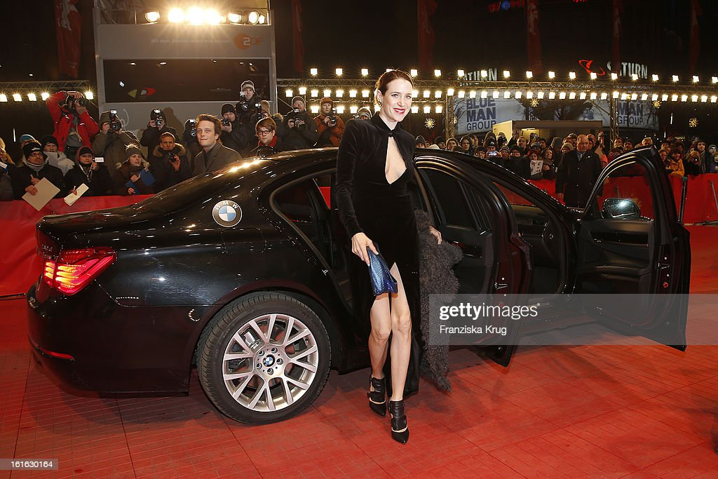 <a gi-track='captionPersonalityLinkClicked' href=/galleries/search?phrase=Julia+Malik&family=editorial&specificpeople=2853278 ng-click='$event.stopPropagation()'>Julia Malik</a> attends the 'Night Train To Lisbon' Premiere - BMW at the 63rd Berlinale International Film Festival at Berlinale Palast on February 13, 2013 in Berlin, Germany.
