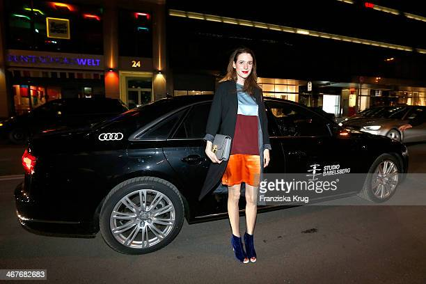 Julia Malik attends the 'Studio Babelsberg Berlinale Party Audi At The 64th Berlinale International Film Festival at Borchardt Restaurant on February...