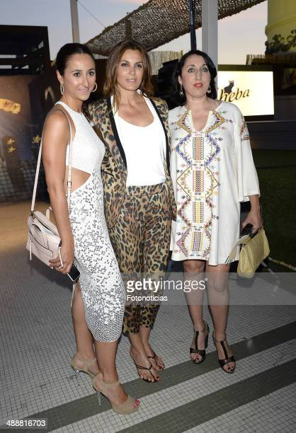Julia Manchon Mar Flores and Rossy de Palma attend the 'Sheba Awards II Edition' at the Circulo de Bellas Artes on May 8 2014 in Madrid Spain