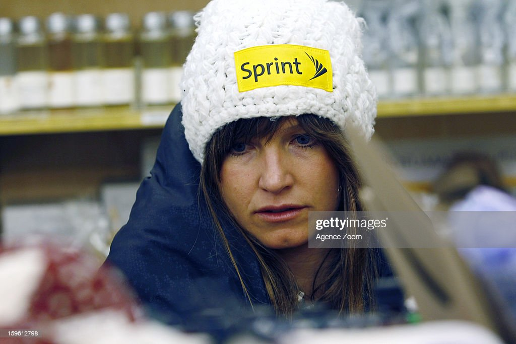 Julia Mancuso of the Womens U.S. Ski Team spends an afternoon site seeing January 17. 2012 in Cortina d'Ampezzo, Italy.