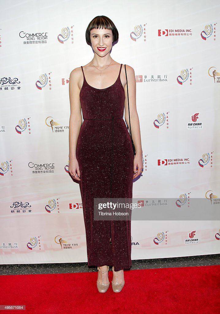 Julia Marie attends the Chinese American Film Festival Opening Ceremony and Gold Angel Awards Ceremony at The Ricardo Montalban Theatre on November 3, 2015 in Hollywood, California.