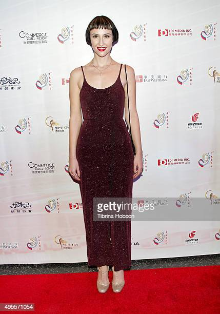 Julia Marie attends the Chinese American Film Festival Opening Ceremony and Gold Angel Awards Ceremony at The Ricardo Montalban Theatre on November 3...