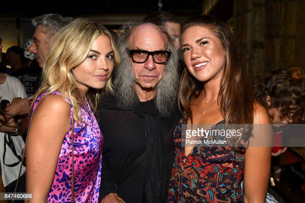 Julia McKinney Craig Page and Lauren Rieches attends IV New York Gallery Grand Opening Exhibition on September 14 2017 in New York City